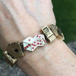 Jewelry - Vintage Lucky Las Vegas bracelet
